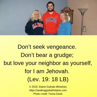 Should Believers Seek Revenge? – Seeking God with Elaine